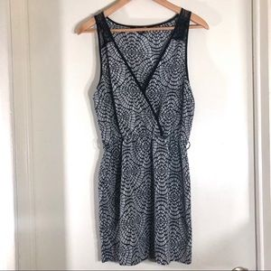 Forever 21 floral lace mini sundress size small